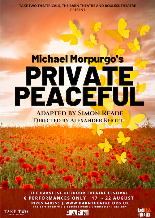 PRIVATE PEACEFUL – BARN FEST
